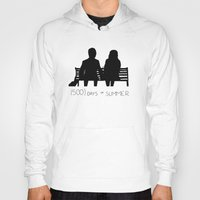 500 days of summer Hoodies featuring (500) Days of Summer by ☿ cactei ☿