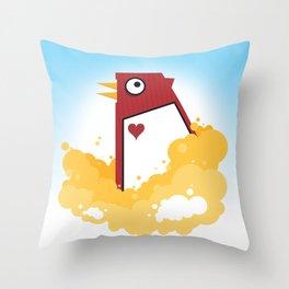 Big Chicken Throw Pillow