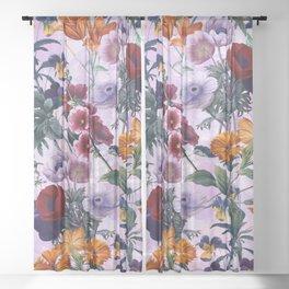 Vintage Garden XI Sheer Curtain