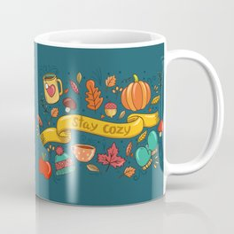 Autumn Is The Time To Stay Cozy Coffee Mug