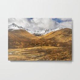 Golden Valley. Metal Print
