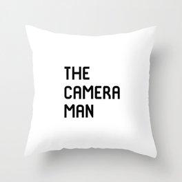 The Cameraman Filmmaking Movie Film School Throw Pillow