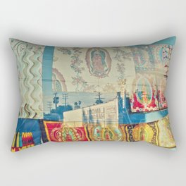 LA Window - Our Lady of Guadalupe Rectangular Pillow