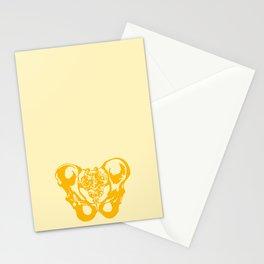 Pelvis bone Stationery Cards