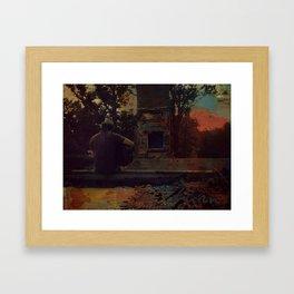 """Burn"" by Ray Lamontagne Framed Art Print"