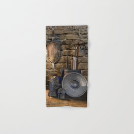 Medieval Weaponry Hand & Bath Towel