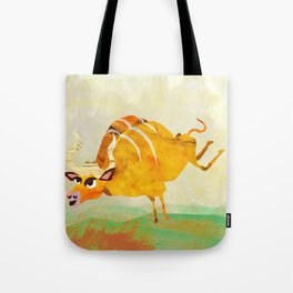 Buffalope (Bewundering World of Bewilderbeests) Tote Bag