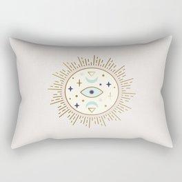Magical Sun - tarot illustration Rectangular Pillow