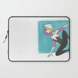 Spider-Gwen by Maria Piedra Laptop Sleeve