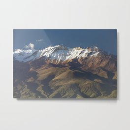 Volcano Chachani near city of Arequipa in Peru Metal Print