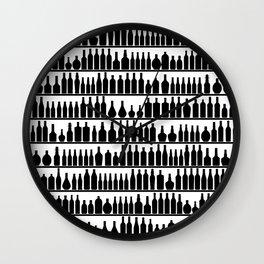 Bar Code Wall Clock