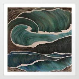 Sea of Seas Art Print