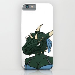 Lusty argonian maid iPhone Case