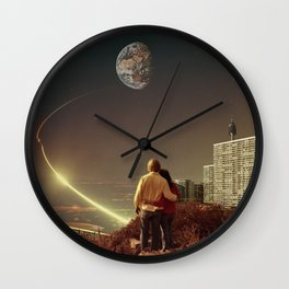 We Used To Live There, Too Wall Clock