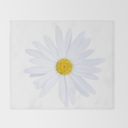 Sunshine daisy Throw Blanket
