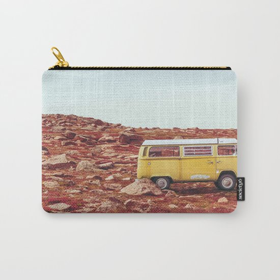 yellow Camper Carry-All Pouch