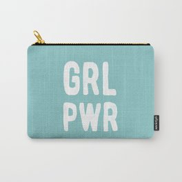 GRL PWR (Blue) Carry-All Pouch