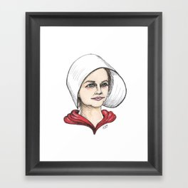 Handmaid Framed Art Print