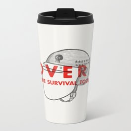 Cover it - Zombie Survival Tools Metal Travel Mug