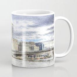 City of London and River Thames Snow Art Coffee Mug