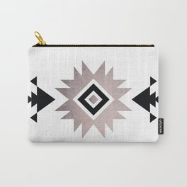 Minimalist Aztec Carry-All Pouch