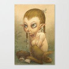 Petite faune Canvas Print