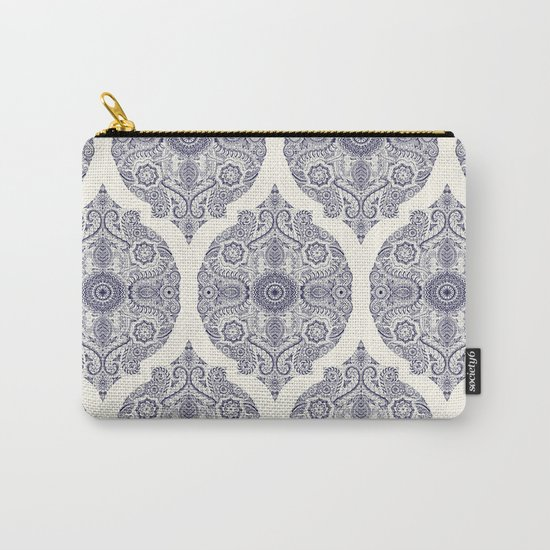 Explorations in Ink & Symmetry Carry-All Pouch
