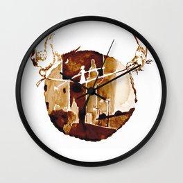 I walk the line Wall Clock