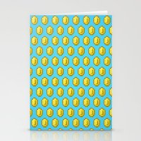 gamer Stationery Cards featuring Gamer Cred by Jango Snow
