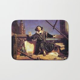 Matejko-Astronomer Copernicus-Conversation with God Bath Mat