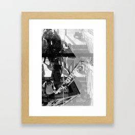 Little Italy Analog Framed Art Print
