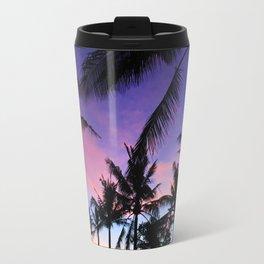 The Perfect Palm Sunset in Bali Travel Mug