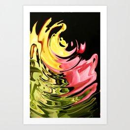 Liquid Fantasy Art Print