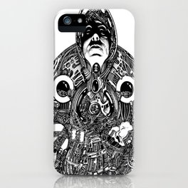 Space Witch iPhone Case