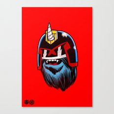 Yeticorn Comic Heroes series: Judge Dredd!  Canvas Print