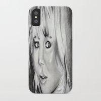 jennifer lawrence iPhone & iPod Cases featuring Jennifer Lawrence by Papa-Paparazzi