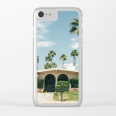 Memory form California Clear iPhone Case