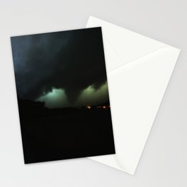 IM LEAVING NOW TORNADO Stationery Cards