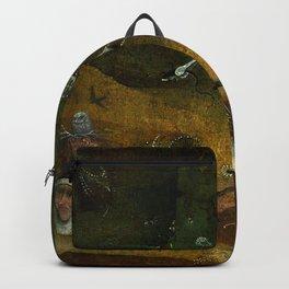 "Hieronymus Bosch ""Hermit Saints Triptych"" - Saint Giles - detail Backpack"