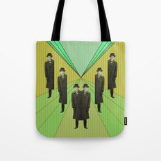 spies are everywhere Tote Bag