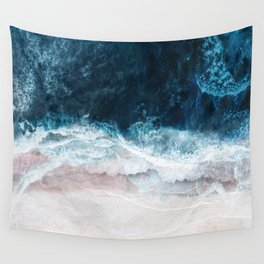 Blue Sea II Wall Tapestry