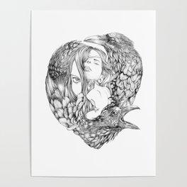 Brenna Whit - Line Poster
