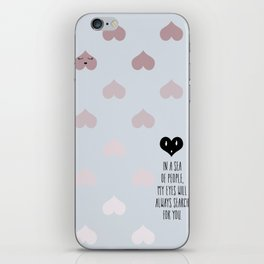 SEA OF HEARTS iPhone Skin
