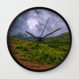 Colors of Snowdonia Wall Clock