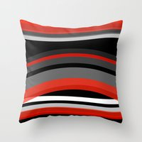 discount Throw Pillows featuring There's movement by Roxana Jordan