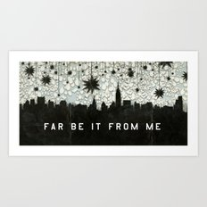 A Good Sky for Falling Art Print