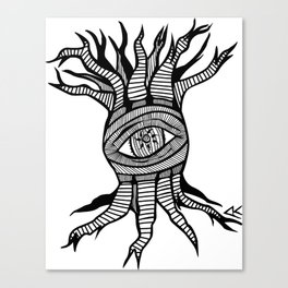 The tree that looks Canvas Print