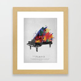 Symphony Series: The Piano Framed Art Print