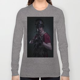 Paintball Soldier Long Sleeve T-shirt