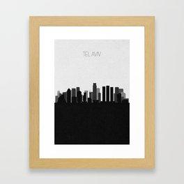 City Skylines: Tel Aviv Framed Art Print